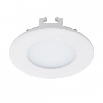 EGLO 94041 | Fueva-1 Eglo ugradna LED panel okrugli Ø85mm 1x LED 300lm 3000K belo
