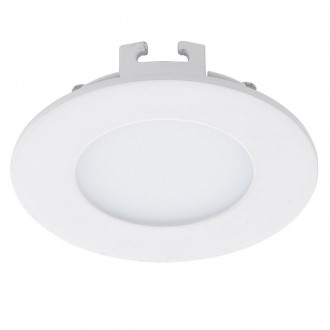 EGLO 94043 | Fueva-1 Eglo ugradna LED panel okrugli Ø85mm 1x LED 360lm 4000K belo