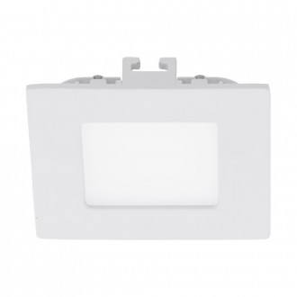 EGLO 94045 | Fueva_1 Eglo ugradna LED panel četvrtast 85x85mm 1x LED 300lm 3000K belo