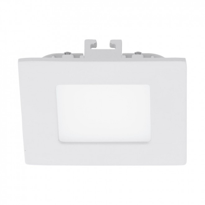 EGLO 94045 | Fueva-1 Eglo ugradna LED panel četvrtast 85x85mm 1x LED 300lm 3000K belo