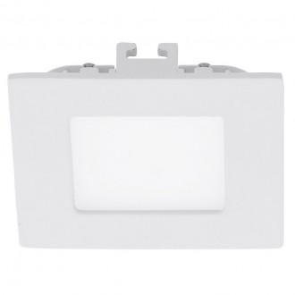 EGLO 94046 | Fueva_1 Eglo ugradna LED panel četvrtast 85x85mm 1x LED 360lm 4000K belo