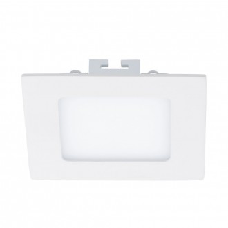EGLO 94053 | Fueva_1 Eglo ugradna LED panel četvrtast 120x120mm 1x LED 600lm 3000K belo
