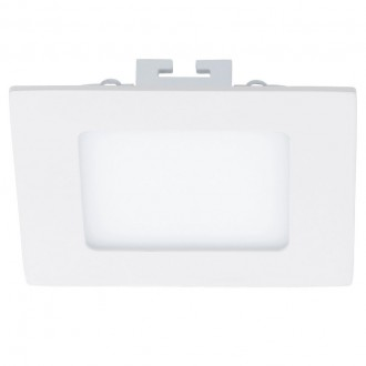EGLO 94054 | Fueva_1 Eglo ugradna LED panel četvrtast 120x120mm 1x LED 700lm 4000K belo