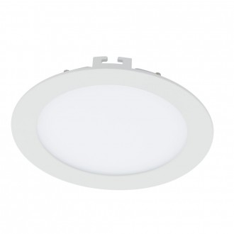 EGLO 94055 | Fueva-1 Eglo ugradna LED panel okrugli Ø170mm 1x LED 1200lm 3000K belo