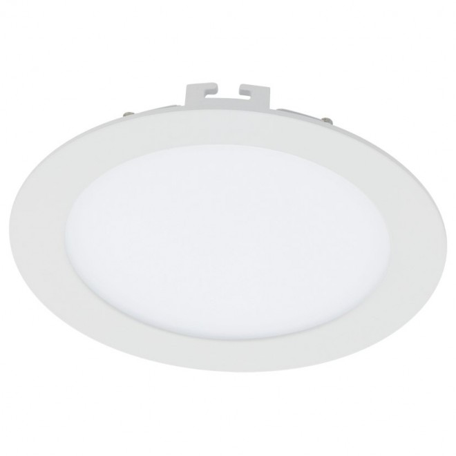 EGLO 94058 | Fueva-1 Eglo ugradna LED panel okrugli Ø170mm 1x LED 1350lm 4000K belo