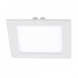 EGLO 94061 | Fueva_1 Eglo ugradna LED panel četvrtast 170x170mm 1x LED 1200lm 3000K belo