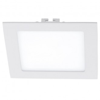 EGLO 94062 | Fueva_1 Eglo ugradna LED panel četvrtast 170x170mm 1x LED 1350lm 4000K belo