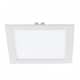 EGLO 94068 | Fueva_1 Eglo ugradna LED panel četvrtast 225x225mm 1x LED 1700lm 3000K belo