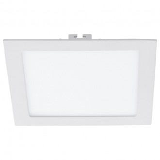 EGLO 94069 | Fueva_1 Eglo ugradna LED panel četvrtast 225x225mm 1x LED 2080lm 4000K belo
